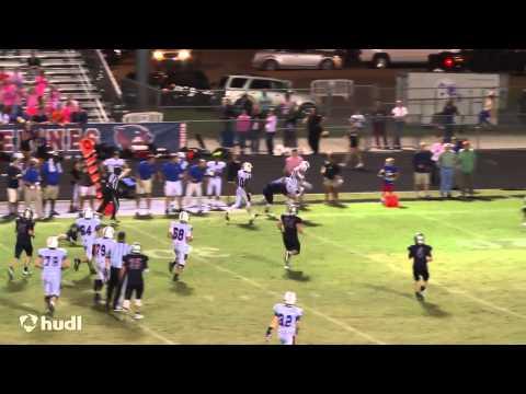 QB Addison Shoup - Sophomore Football Highlights (2014 Season)