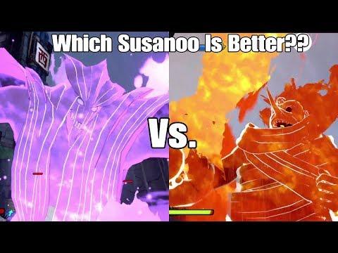 Naruto To Boruto Shinobi Striker Susanoo Jutsu Breakdown/Test! Which Susanoo Is Best?