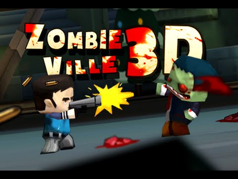 Zombieville 3D GameSalad Template