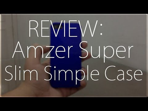 Review : Amzer 1 MM Super Slim Case For iPhone 5