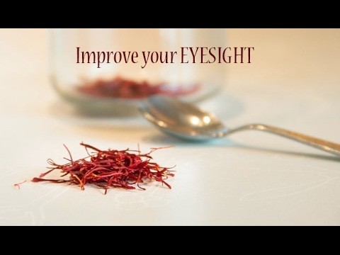 Saffron Increases Vision by Up to 97% which Can Help Reverse Age-Related Vision Loss
