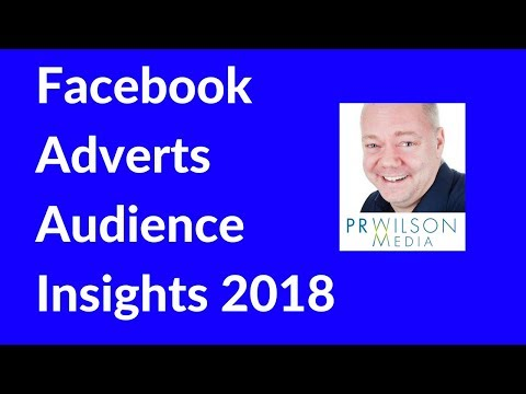 How To Use Facebook Ads audience insights 2018