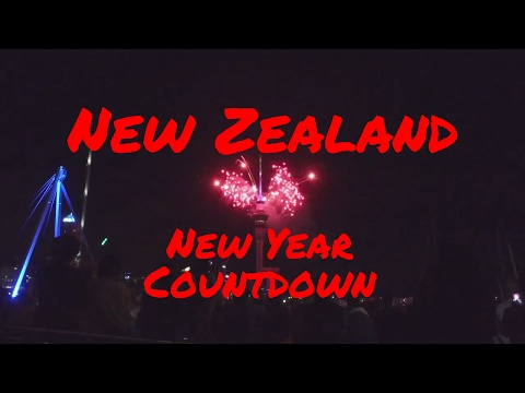 MYGF_DIARY   2017 New Year countdown at Auckland City New Zealand   video + blog   002