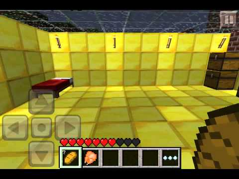 MINECRAFT P.E: HOW TO EAT FOOD