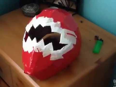 Making a Power Ranger Helmet