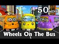 Wheels On The Bus Go Round And Round 3d Animation Kids Songs