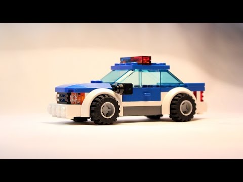 How To Build A Fake Lego Police Car Instructions Instructions