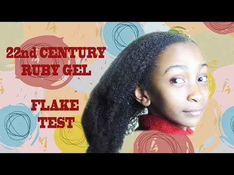 22nd Century Ruby Gel Flake Test