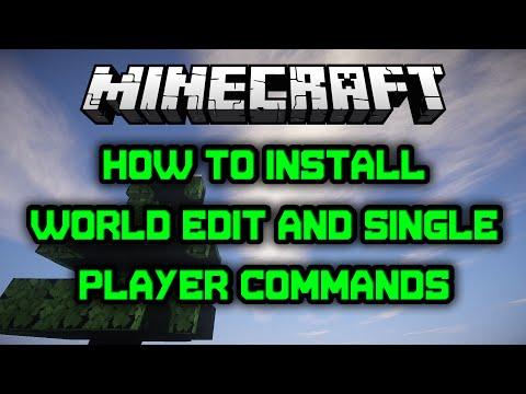 Minecraft SPC and World Edit Install Tutorial (1.8)