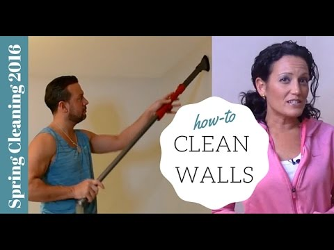 Spring Cleaning 2016: How to Spring Clean Your Walls by Tori Toth