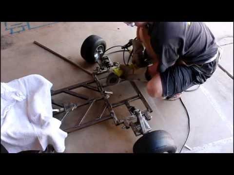 (Homemade) Go Kart Build Project 18: Steering Column Fabrication!