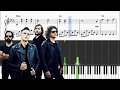 The Killers - Mr Brightside - Piano Tutorial + SHEETS