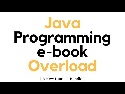 Java Programming ebook Bundle (expires tomorrow!)