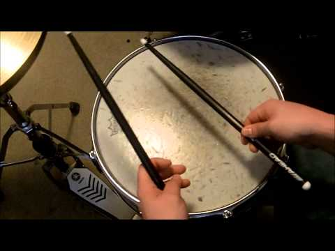The Easiest Way To Do A Drum Roll On Your Snare Drum