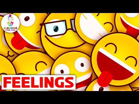 These Are My Feelings | Kid's Learning Songs | Feelings and Emotions for Children