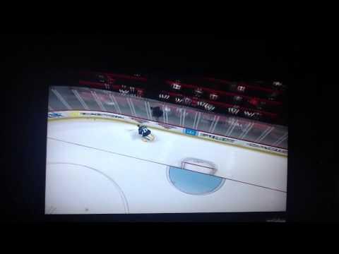NHL 14 Goalie Gets Killed