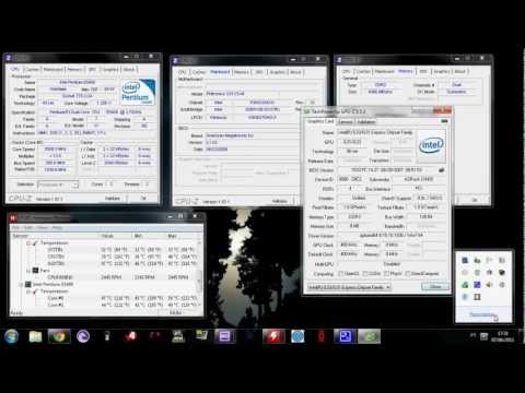 Overclocking:Intel Pentium Dual-Core E5400 2.70Ghz @ 3.61Ghz