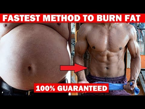Fastest Way To Burn Fat - 100% Guaranteed  (SECRET) | Tips & Workout
