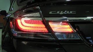 Episode 252 2013 Honda Civic Sedan Taillight Upgrade Installation