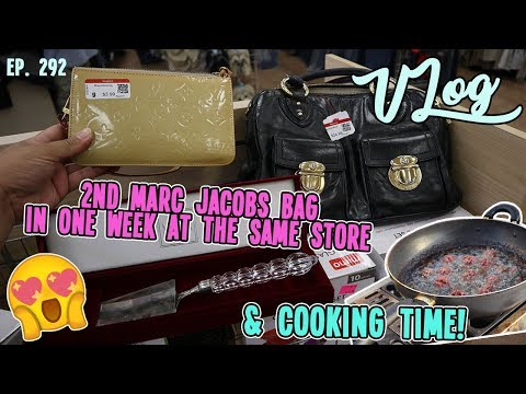 2ND MARC JACOBS BAG IN ONE WEEK AT THE SAME STORE   DAILY THRIFTING TRIP   VLOG EP. 292