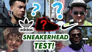DO SNEAKERHEADS KNOW ANYTHING ABOUT SNEAKERS? // Fung Bros