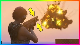 HOW TO GET THE RAILGUN, STUNGUN & UNLIMITED FIREWORKS FOR FREE IN GTA ONLINE! (GTA 5 PS4)