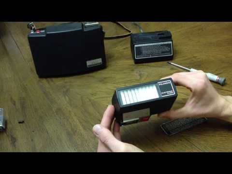 How To: Disassemble a Polaroid #365 Electronic Flash