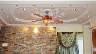 Gypsum Fasle Ceiling Decoration Colour Design 01750999477