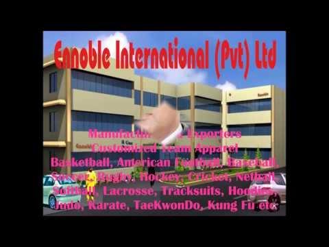 Customized Team Apparel by Ennoble International (Pvt) Ltd, Sialkot