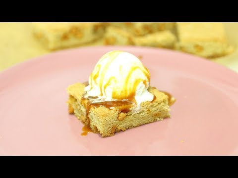 Butterscotch Blondie Recipe - Chewy Butterscotch Brownies