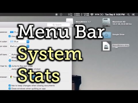 Monitor CPU, Disk, Memory, & Network Usage Stats in Your Mac OS X Menu Bar [How-To]