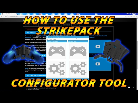 PS4 Strikepack Configurator Tool -  Full Tutorial, How To & Testing