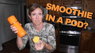 BLENDER ON THE GO? VEJO PORTABLE SMOOTHIES REVIEW   VLOGUST #30