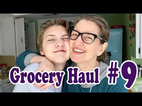Grocery Haul #9 - Our Plant-Based Teens Eat Adult Portions Now