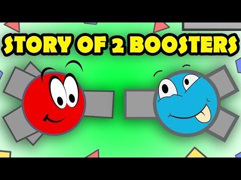 The start of a NEW Booster Friendship?! (Diep.io Short Stories)