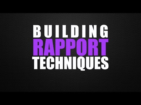Interview Tips & Techniques | Part 4 - Building Rapport