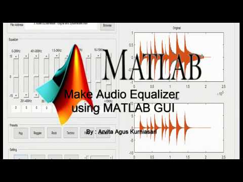 Make Audio Equalizer Using Matlab GUI
