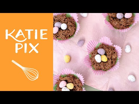 Easter Chocolate Nests Recipe | Katie Pix