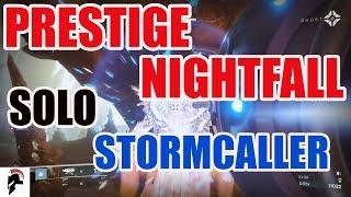 Destiny 2 - Solo Prestige Nightfall - Safe Solo Farming For