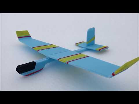 How to make a simple glider plane with foam plates - Amazing Toy
