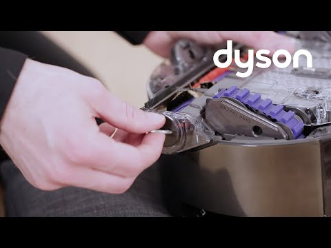 Dyson 360 Eye™ robot vacuum - Maintaining the brush bar (UK)