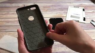 Topnow Leather Pattern Ultra Thin TPU Case For OnePlus 5 BiG Unboxing and Review