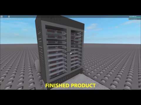 [ROBLOX BUILD TIMELAPSE] Storage Server Cabinet