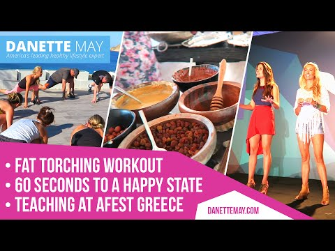 Fat Torching Workout/60 seconds to a Happy State/Teaching at Afest Greece