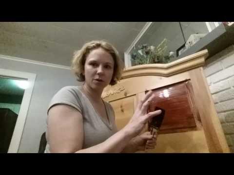 Refinishing Bedroom Set pt.1