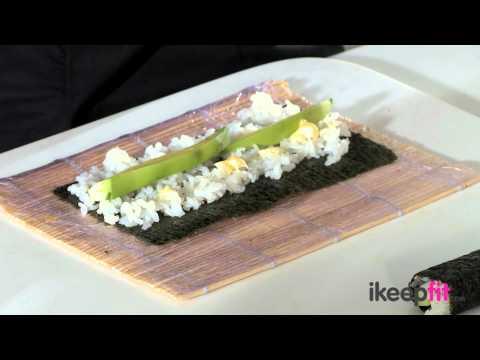 ikeepfit: Cucumber and Avocado Maki with YO! Sushi