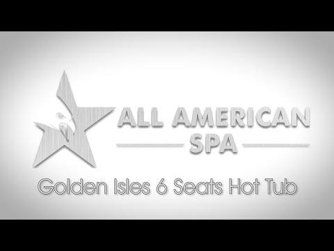 Golden Isles 6 Seats Hot Tub - All American Spa