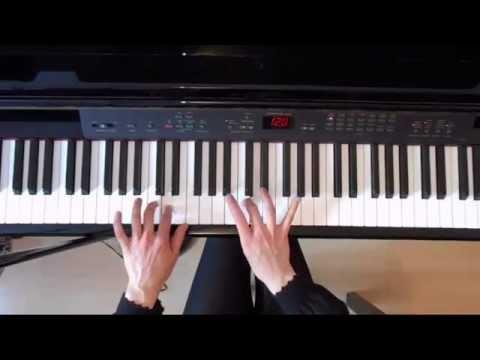 ABRSM Grade 5 Piano Scales Piano tutorial ( slow demo)