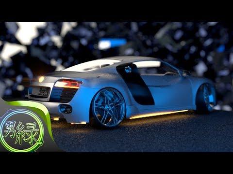 (CG Art timelapse) Car animation v2 (Blender 2.70)
