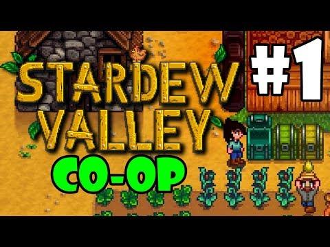 Stardew Valley MULTIPLAYER - BLIND Playthrough - Part 1 (Beta)